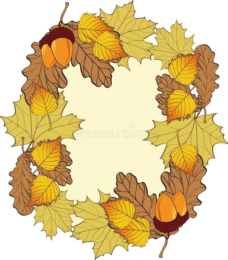 Free Autumn Frame . Royalty Free Stock Image - 16291836
