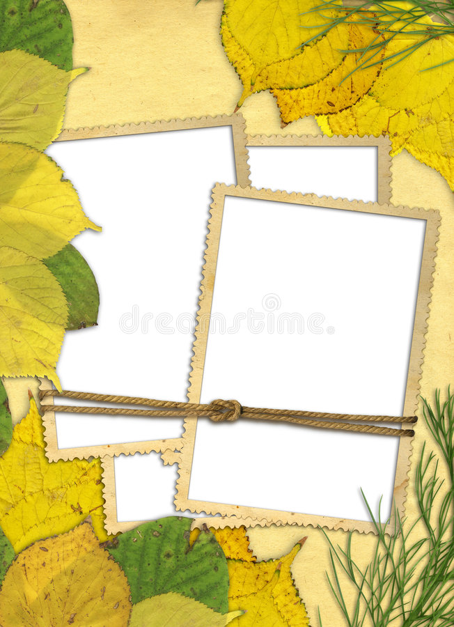 Download Autumn frame stock illustration. Illustration of garden - 6129004