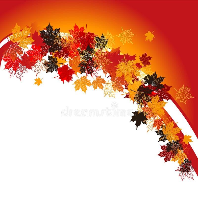 Free Autumn Frame: Maple Leaf. Stock Image - 11252741