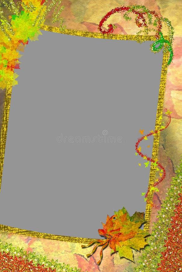 Free Autumn Framework For A Photo. Royalty Free Stock Photo - 10598865