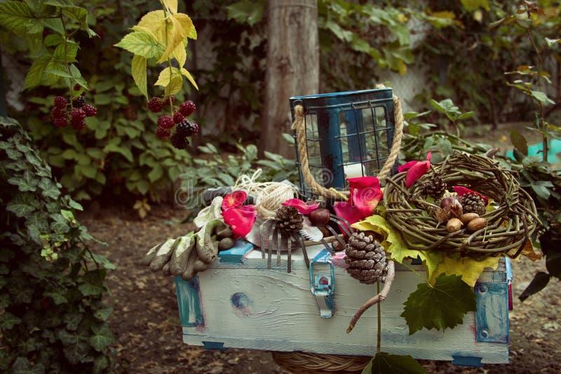 Autumn Garden Decoration immagine stock libera da diritti