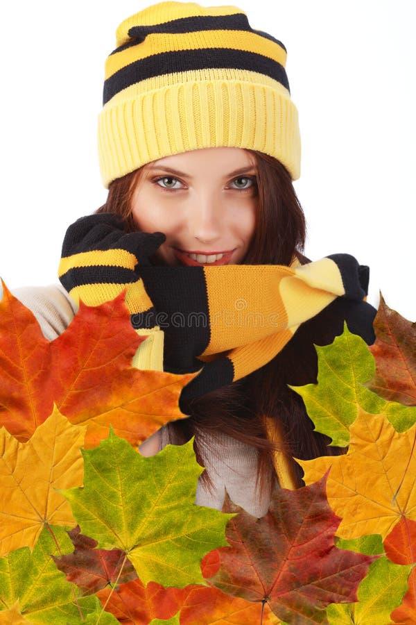 Download Autumn girl stock photo. Image of femininity, autumnal - 11001424