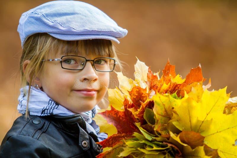 Autumn Girl imagem de stock