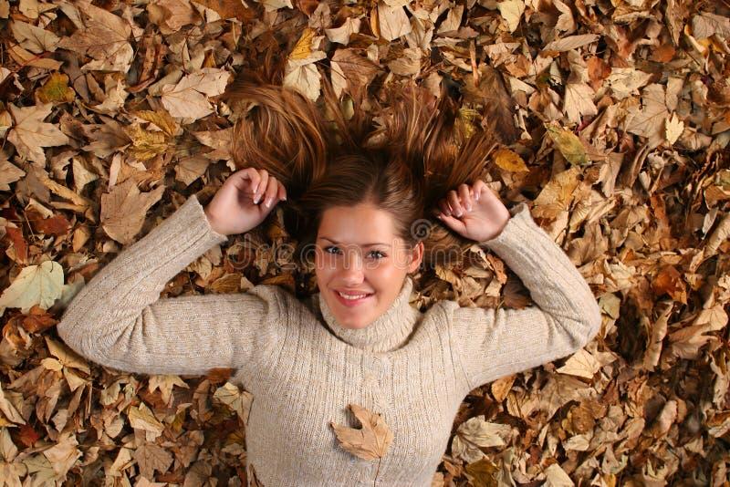 Autumn Girl immagine stock libera da diritti