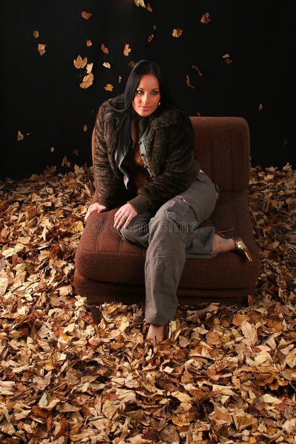 Autumn Girl fotografia stock libera da diritti
