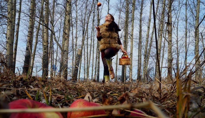 Autumn Girl immagini stock