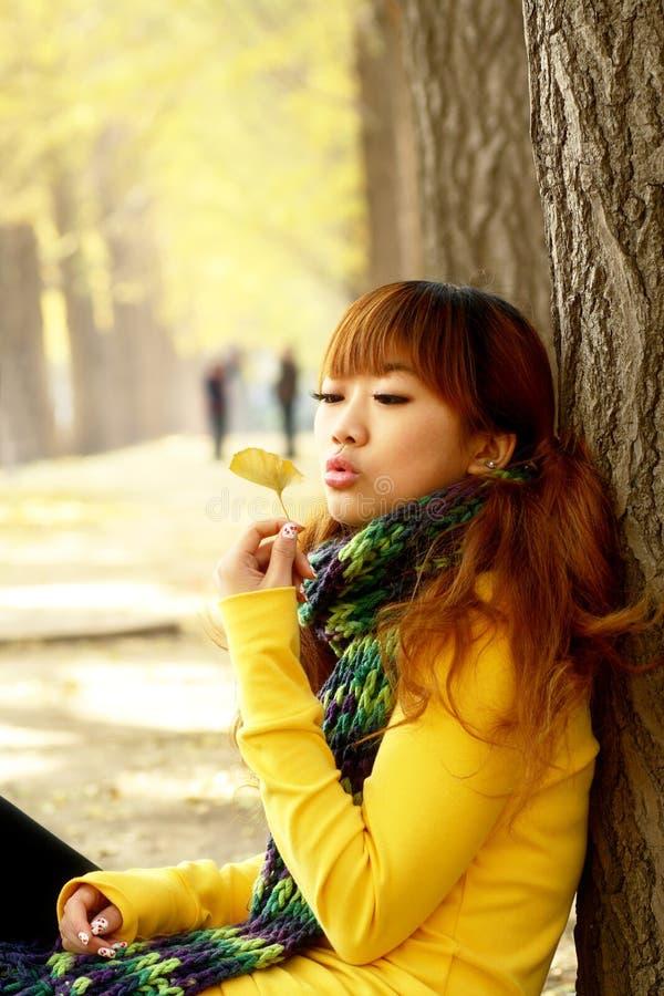 Free Autumn Girl Royalty Free Stock Photo - 6974705