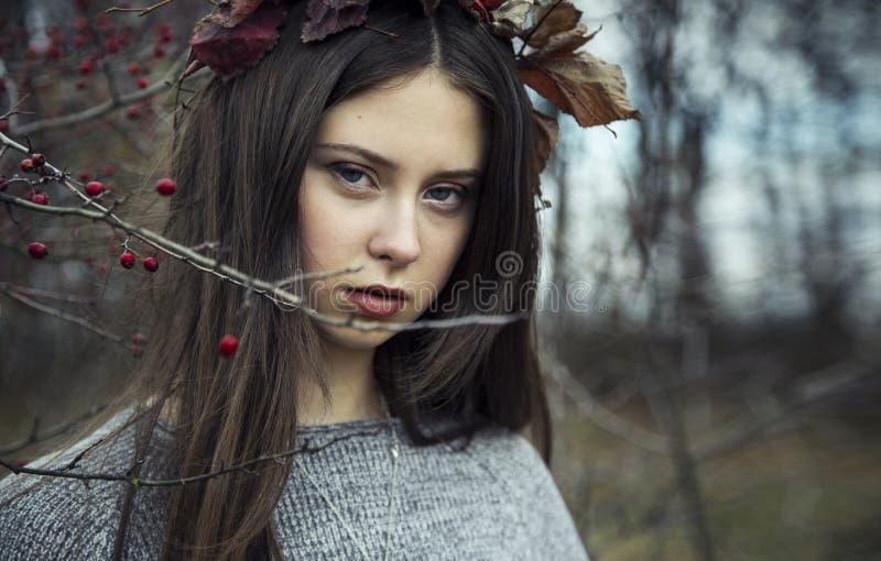 Autumn Girl imagen de archivo libre de regalías