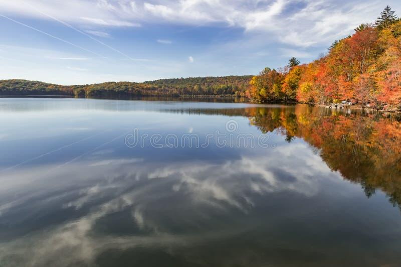 Autumn. Gorgeous autumn day in New York royalty free stock image
