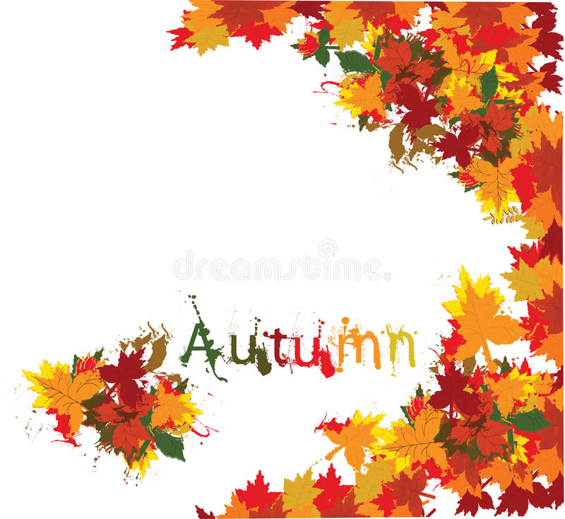 Download Autumn grunge background stock vector. Image of rough - 15781338