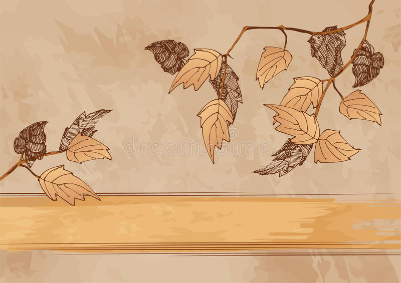 Autumn grunge background
