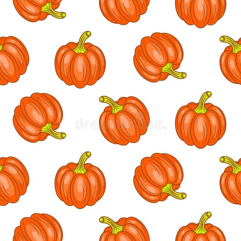 Autumn halloween seamless vector pattern. royalty free illustration