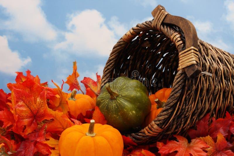 Autumn Harvest Scene stock image