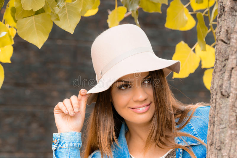 Download Autumn is here stock photo. Image of care, facial, autumn - 34477560