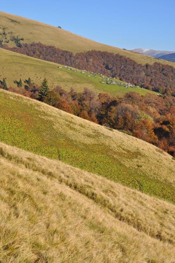 Free Autumn Hillsides. Royalty Free Stock Images - 16527839