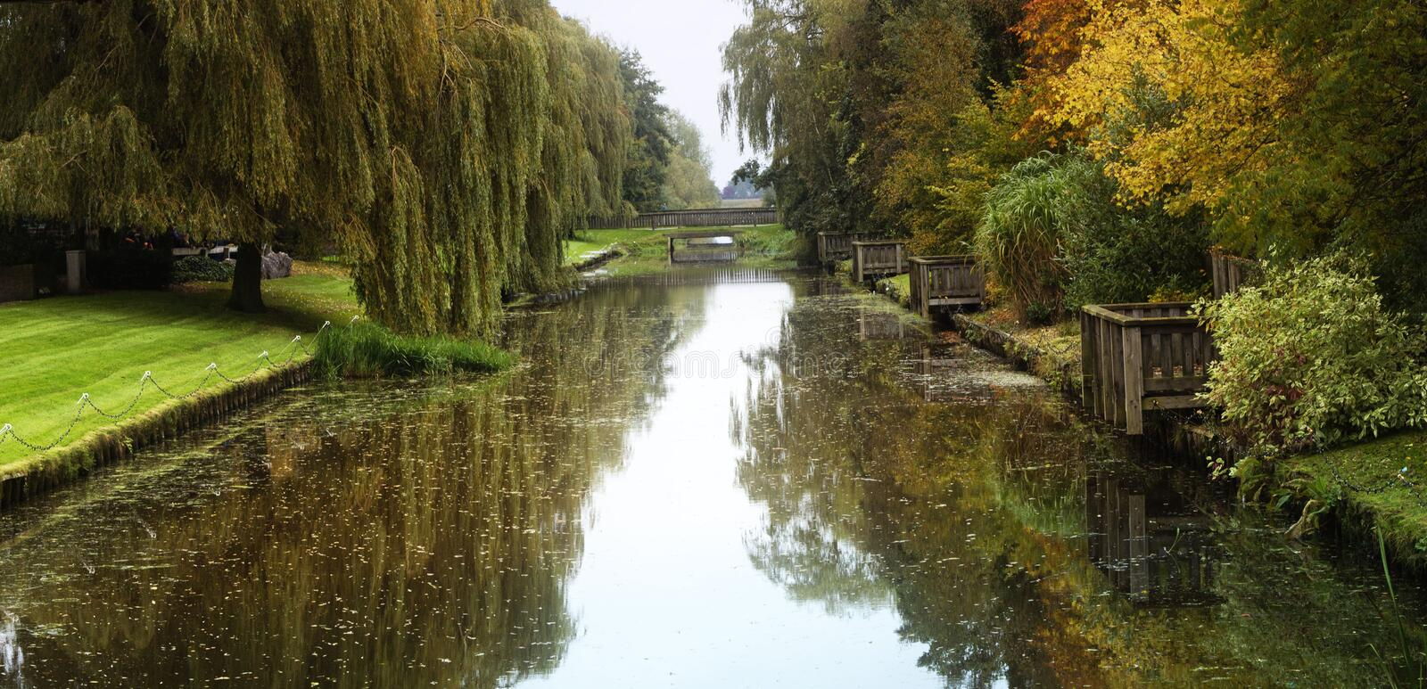 Autumn in holland royalty free stock images