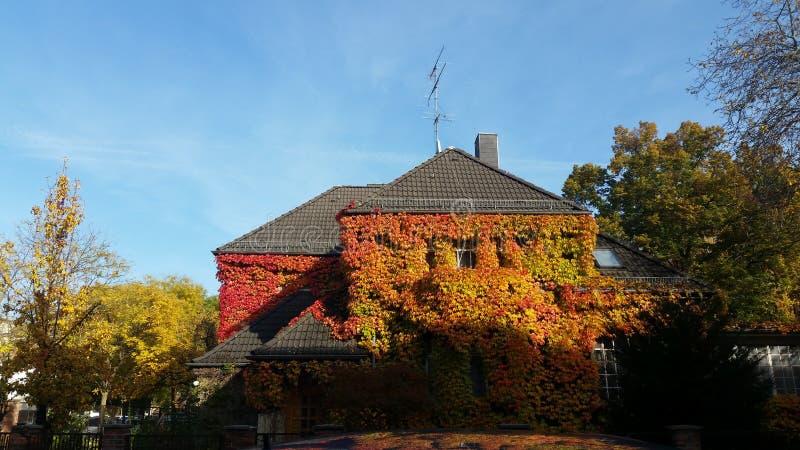 Autumn House stock photo