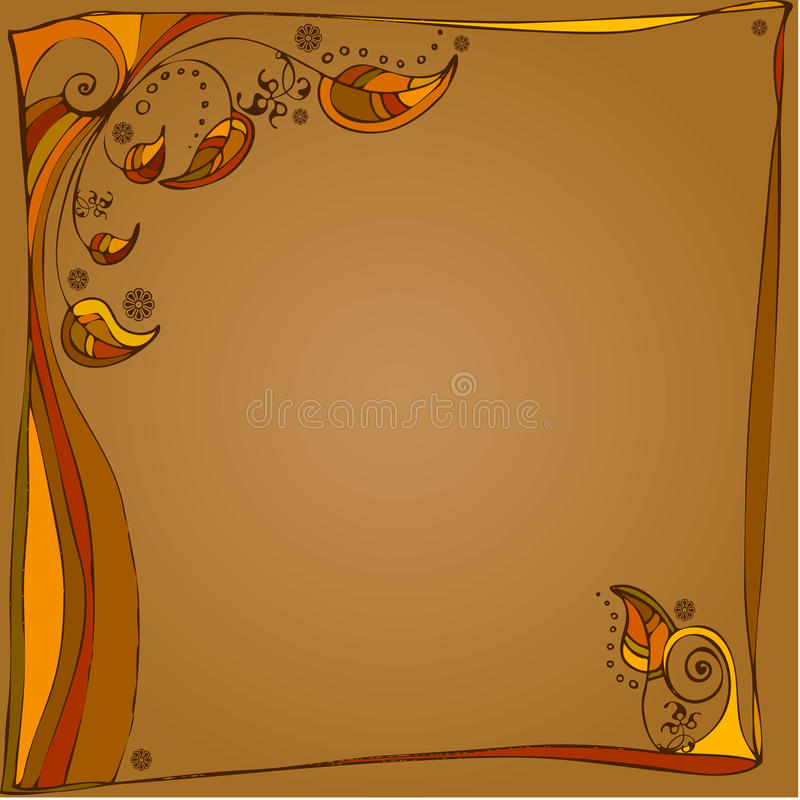 Download Autumn Illustrated Background Royalty Free Stock Photos - Image: 20529158