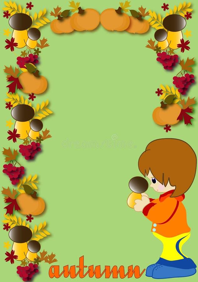 Autumn illustration royalty free illustration