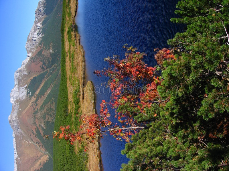 Free Autumn In Dolomitic Mountain Stock Photography - 1422892