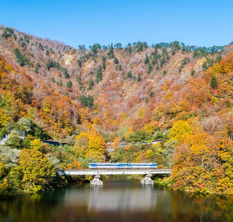 Free Autumn In Tadami Fukushima Japan Royalty Free Stock Photo - 120412965