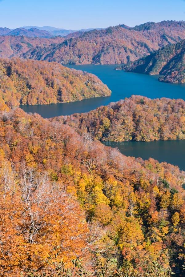 Free Autumn In Tadami Fukushima Japan Stock Images - 122303354