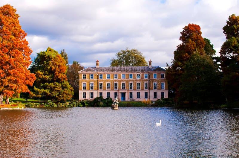 Autumn at Kew Gardens. Autumn season at Kew Gardens, London stock photo