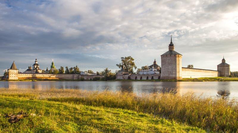 Autumn in Kirillov royalty free stock photography