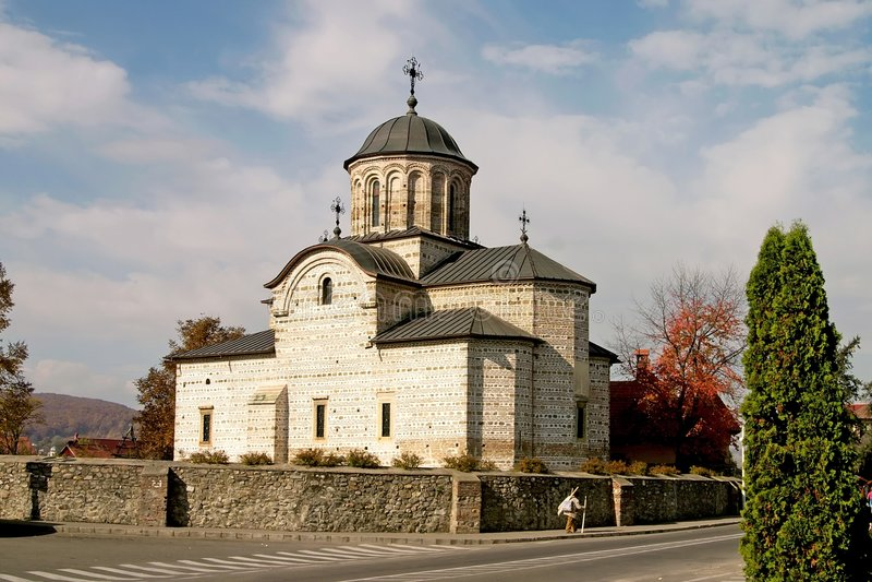 autumn kościoła świętego obraz stock
