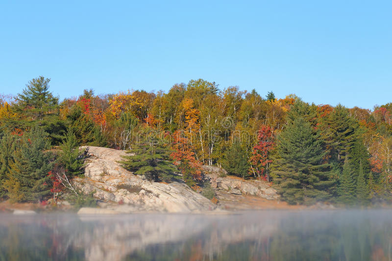 Download Autumn Lake stock image. Image of wilderness, outdoors - 16443253
