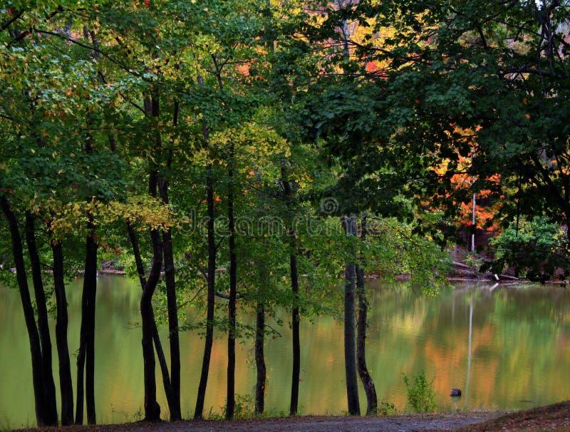 Autumn On The Lake Royalty Free Stock Photos