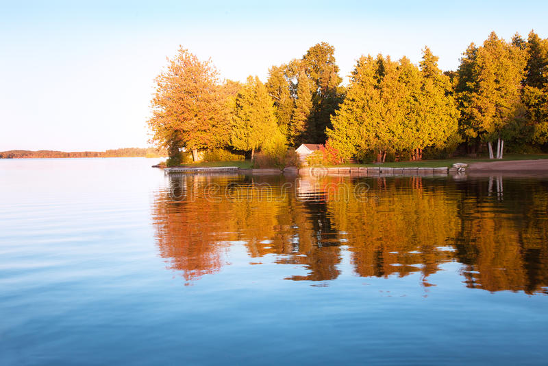 The autumn landscape royalty free stock photo