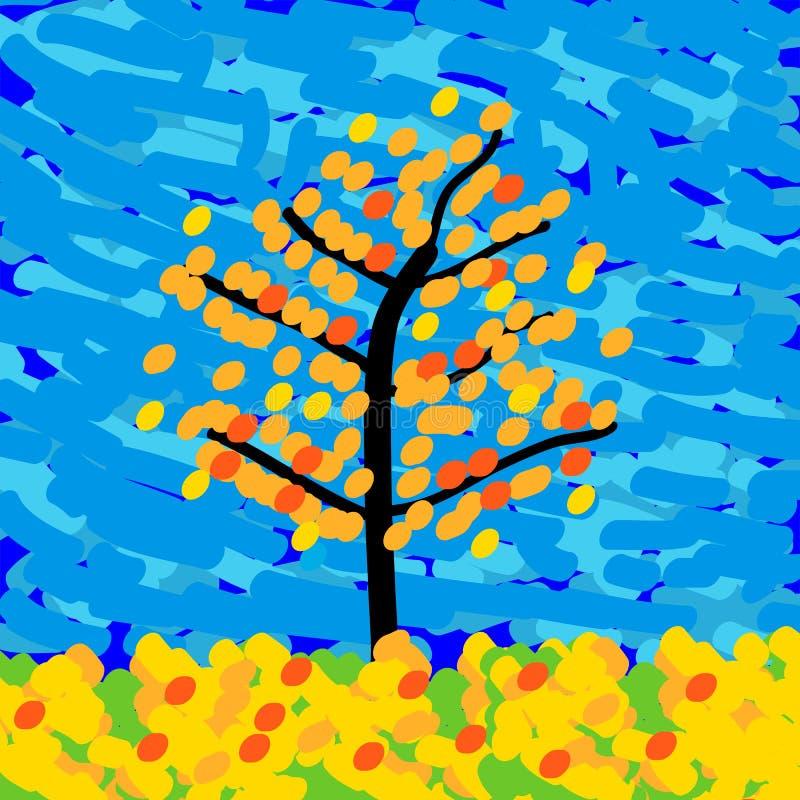 Download Autumn Landscape illustration de vecteur. Illustration du horizontal - 45359006