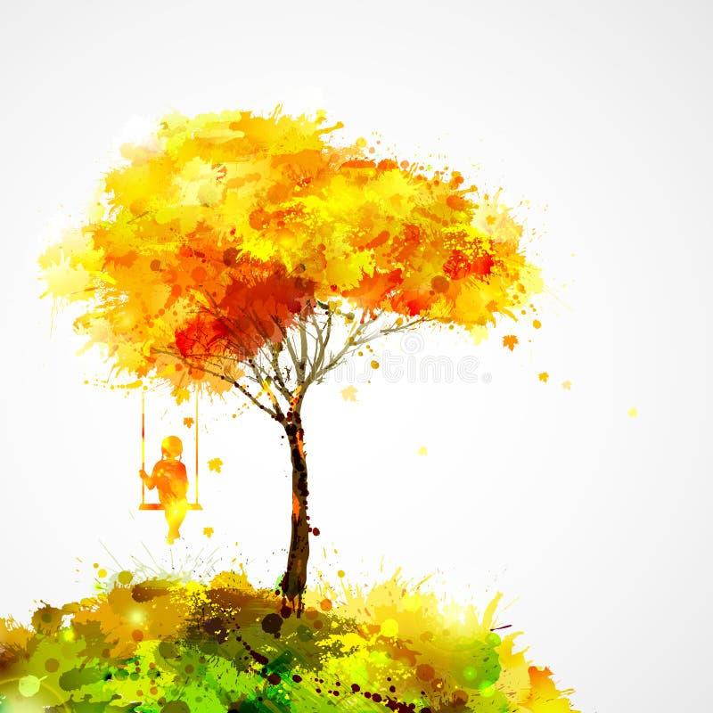 Autumn Landscape vector illustratie