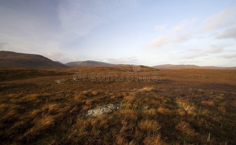 Autumn landscape of Dartmoor royalty free stock photos