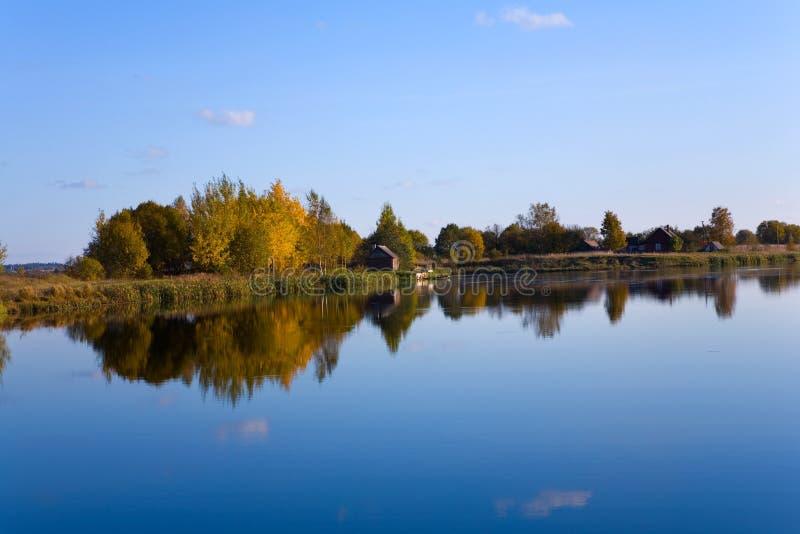 Download Autumn landscape of lake stock image. Image of autumn - 6995361