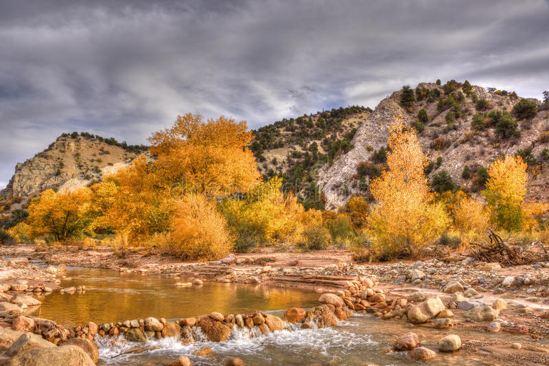 Autumn landscape, Utah royalty free stock photo