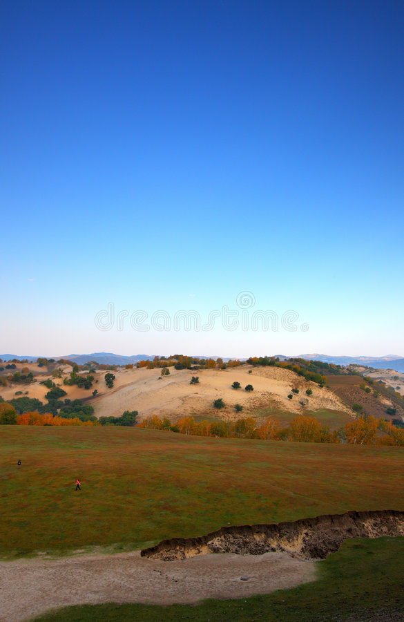 Autumn landscapes stock photo