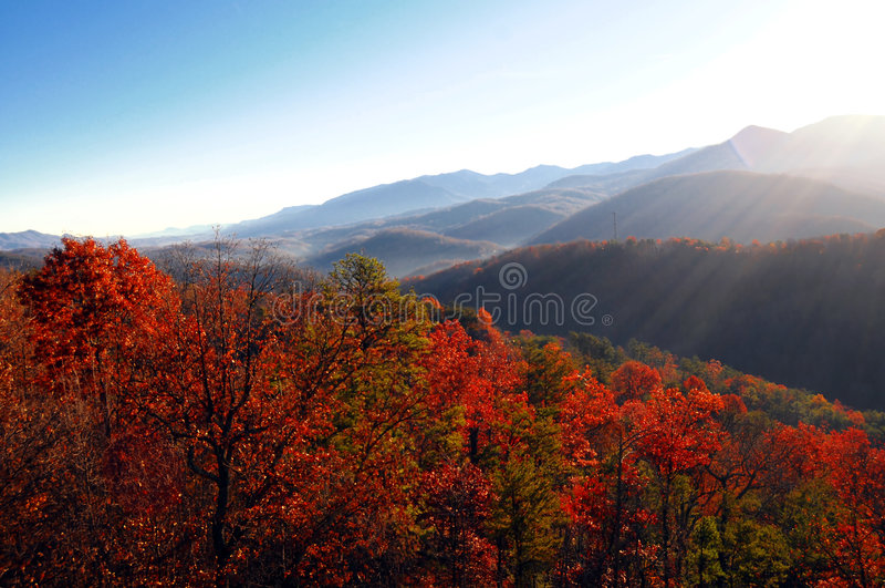 Autumn lanscape view royalty free stock photo