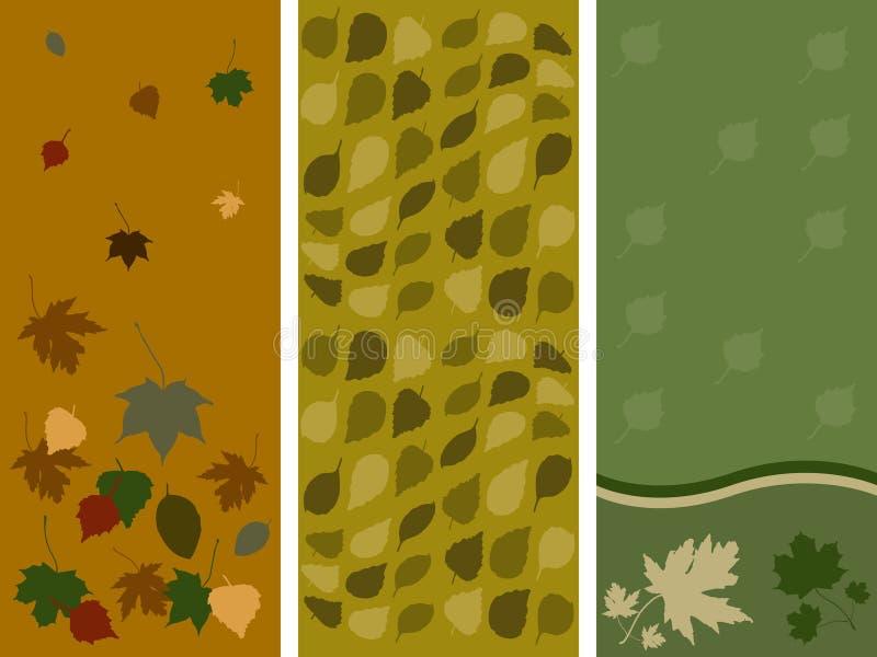 Download Autumn Leaf Panels Stock Image - Image: 3665591