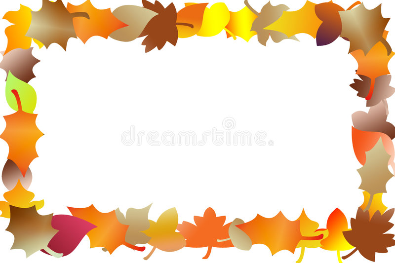 Autumn leafs stock illustration