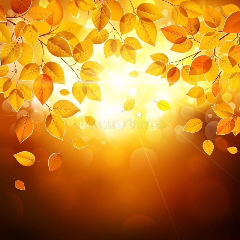 Autumn Leaves ilustración del vector