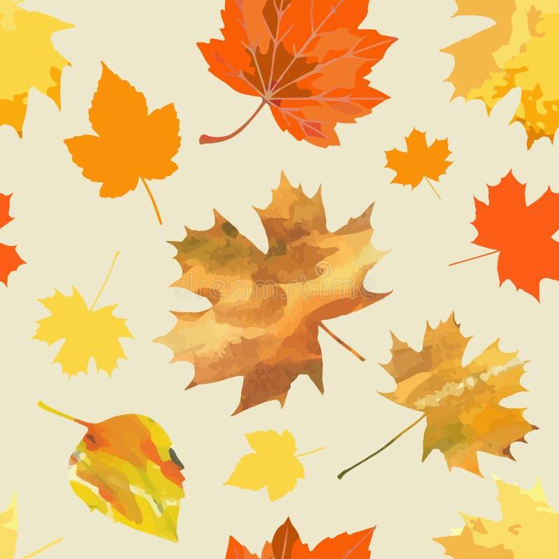 Autumn Leaves illustrazione di stock