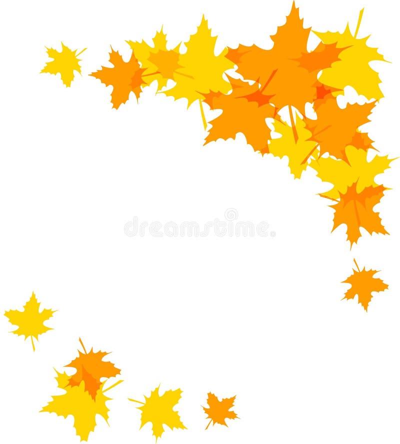Autumn Leaves ilustração stock