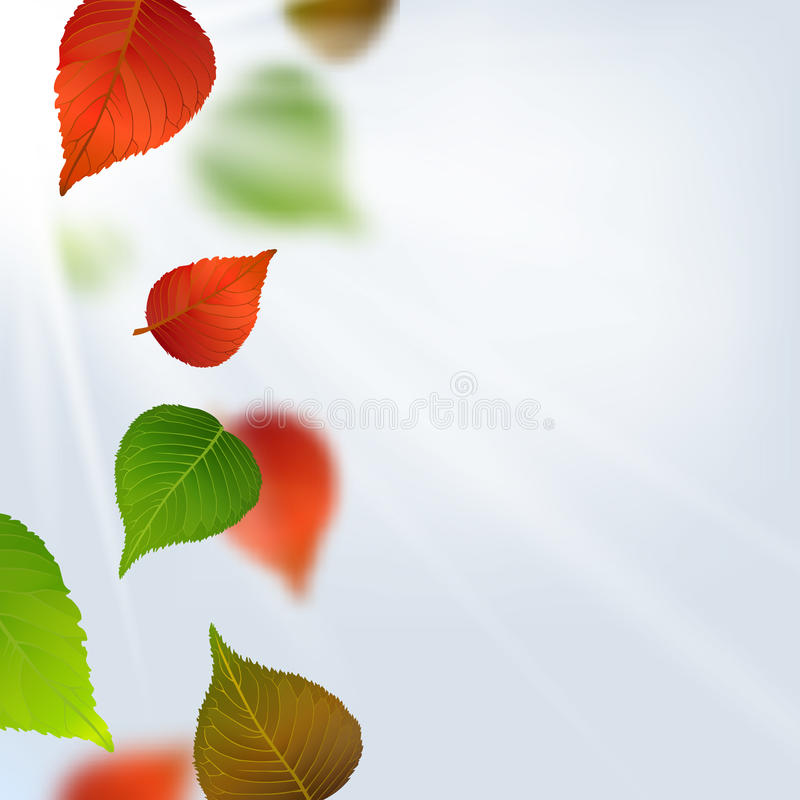 Autumn Leaves vektor abbildung