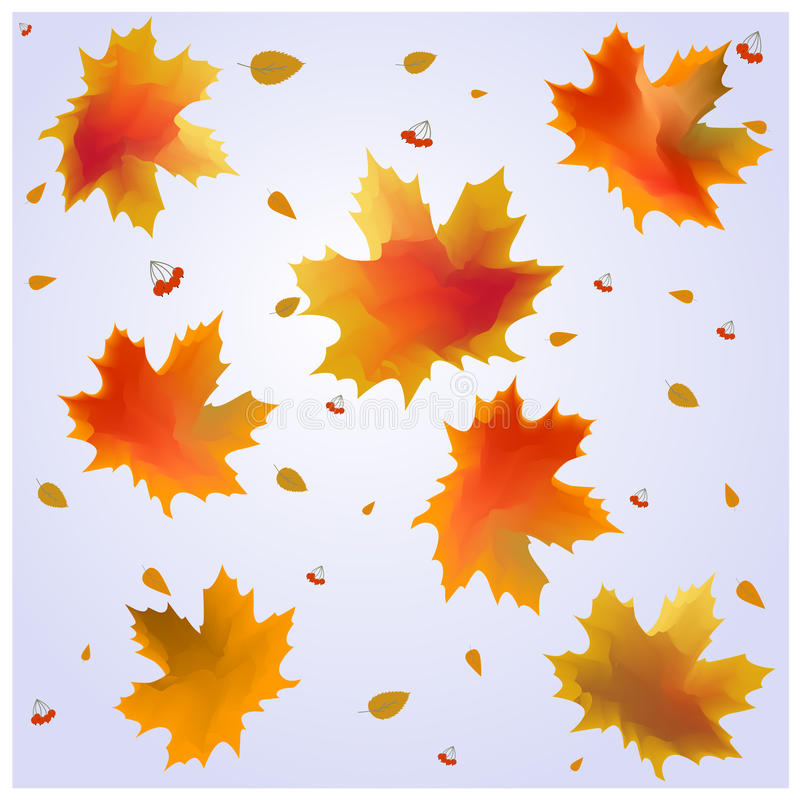 Autumn Leaves ilustração royalty free