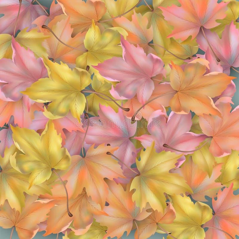 Autumn Leaves Background stock de ilustración