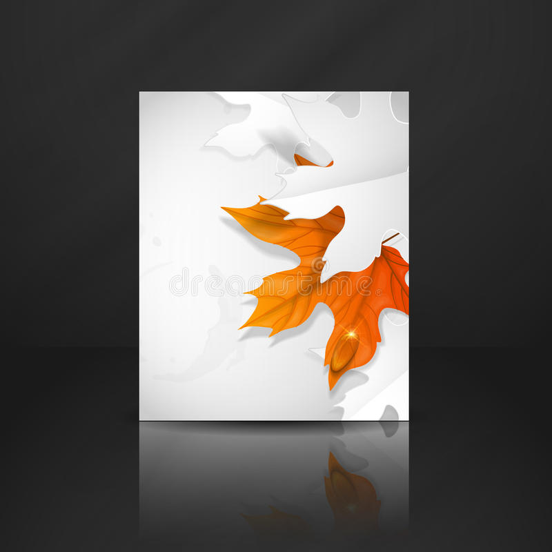 Autumn Leaves Background royalty illustrazione gratis