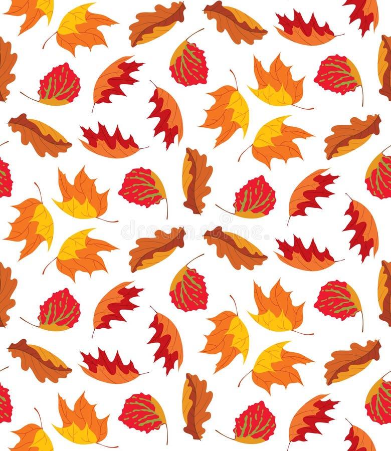 Autumn Leaves Background vector illustratie