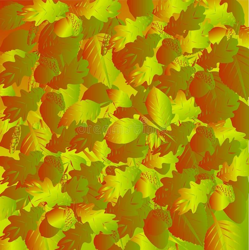 Autumn Leaves Background illustration libre de droits